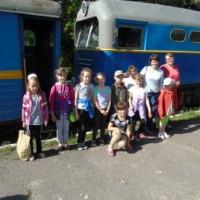 """Поїздка """"Поліським трамваєм"""""""